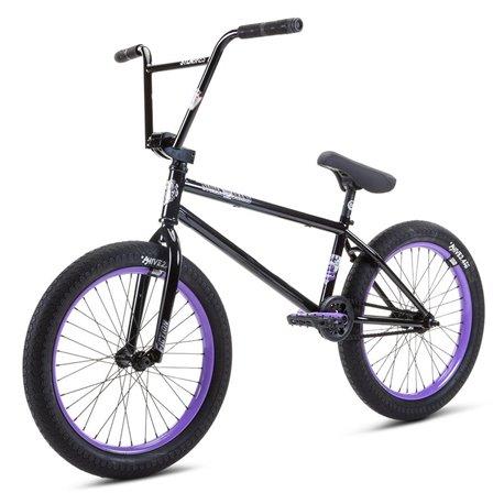 Велосипед BMX Stolen 2021 SINNER FC XLT LHD 21 черный с лавандовым