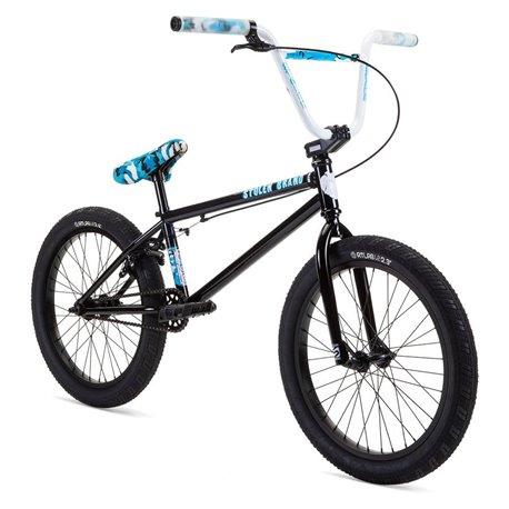 Велосипед BMX Stolen 2021 STEREO 20.75 черный с синим камуфляжем