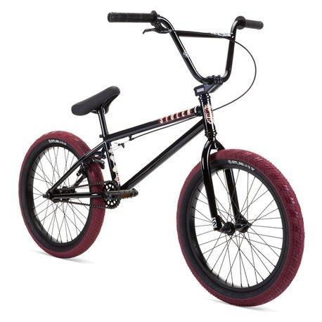 Велосипед BMX Stolen 2021 CASINO 20.25 черный с кровавым красным