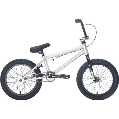 WeThePeople CRS 18 2019 matt anthracite grey BMX bike