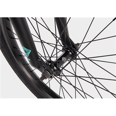 Mission Stainless 188 mm without nipples black Spokes