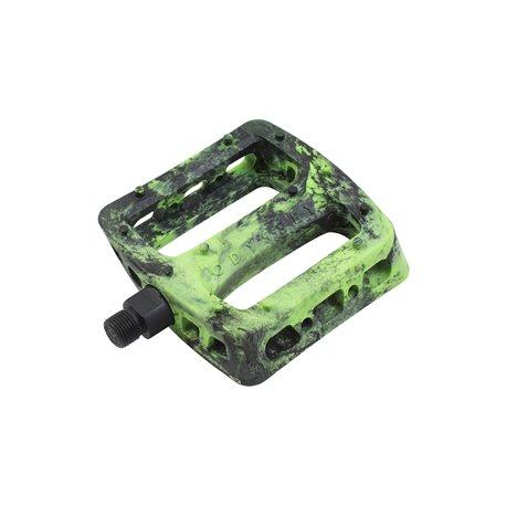Педали Odyssey Twisted PRO PC черный с зеленый swirl