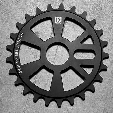 Звезда BMX KINK Bedlam 25t матовая черная