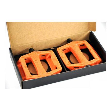Педали BMX KENCH nylon PC оранжевый