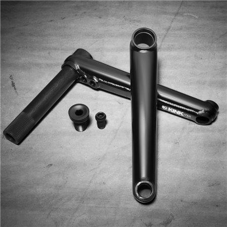 Stolen Talon V2 3pc Black 165mm BMX Cranks