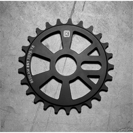 Звезда BMX KINK Bedlam 28T матовая черная